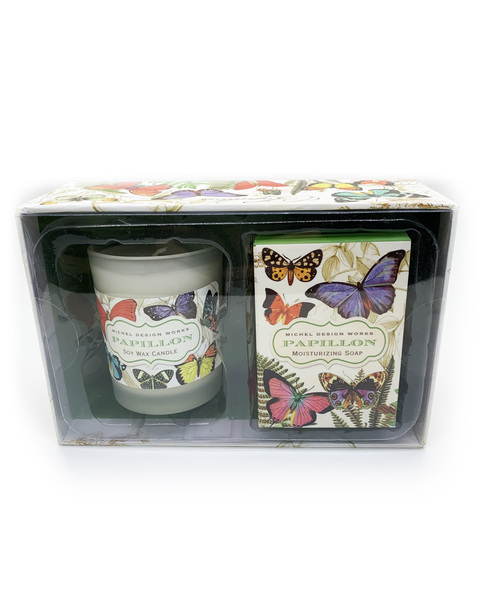 Papillon Candle and Soap Gift Set