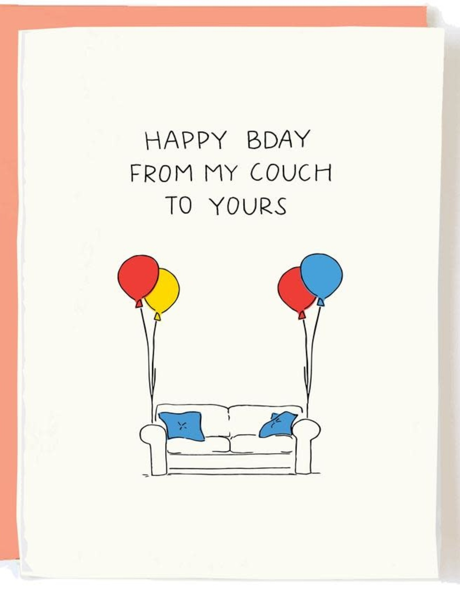 From My Couch To Yours Card