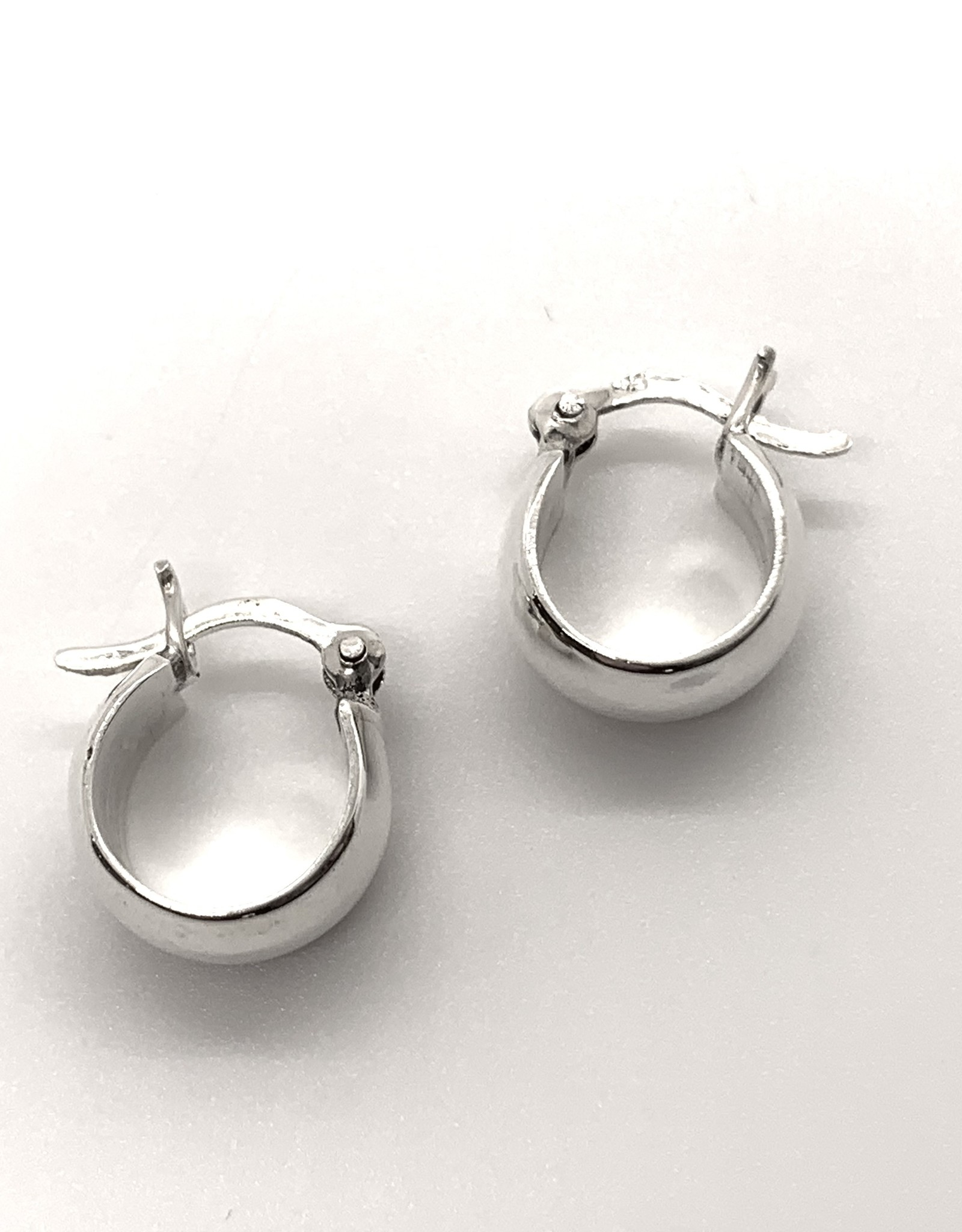 Small Silver Hoop Earring