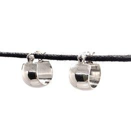 Small Silver Hoop Earring