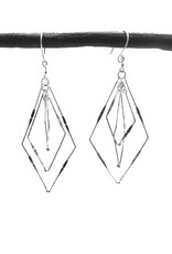 Delicate Triple Tie Dangle Earrings