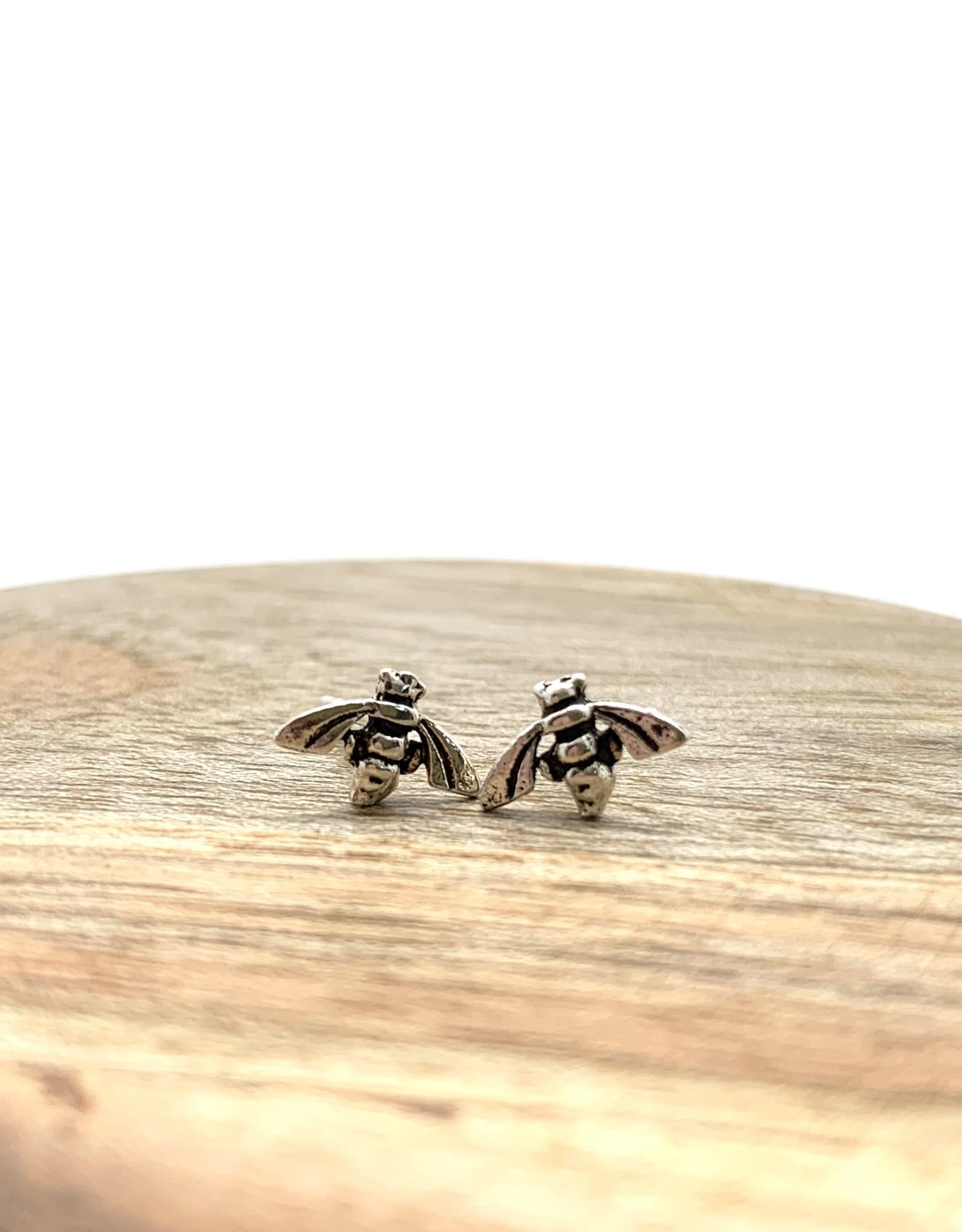 Tiny Bee Studs