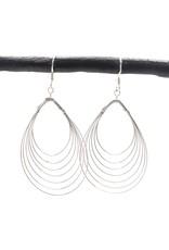 Seven Wire Drop Earring