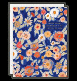 Wildflower Floral Card