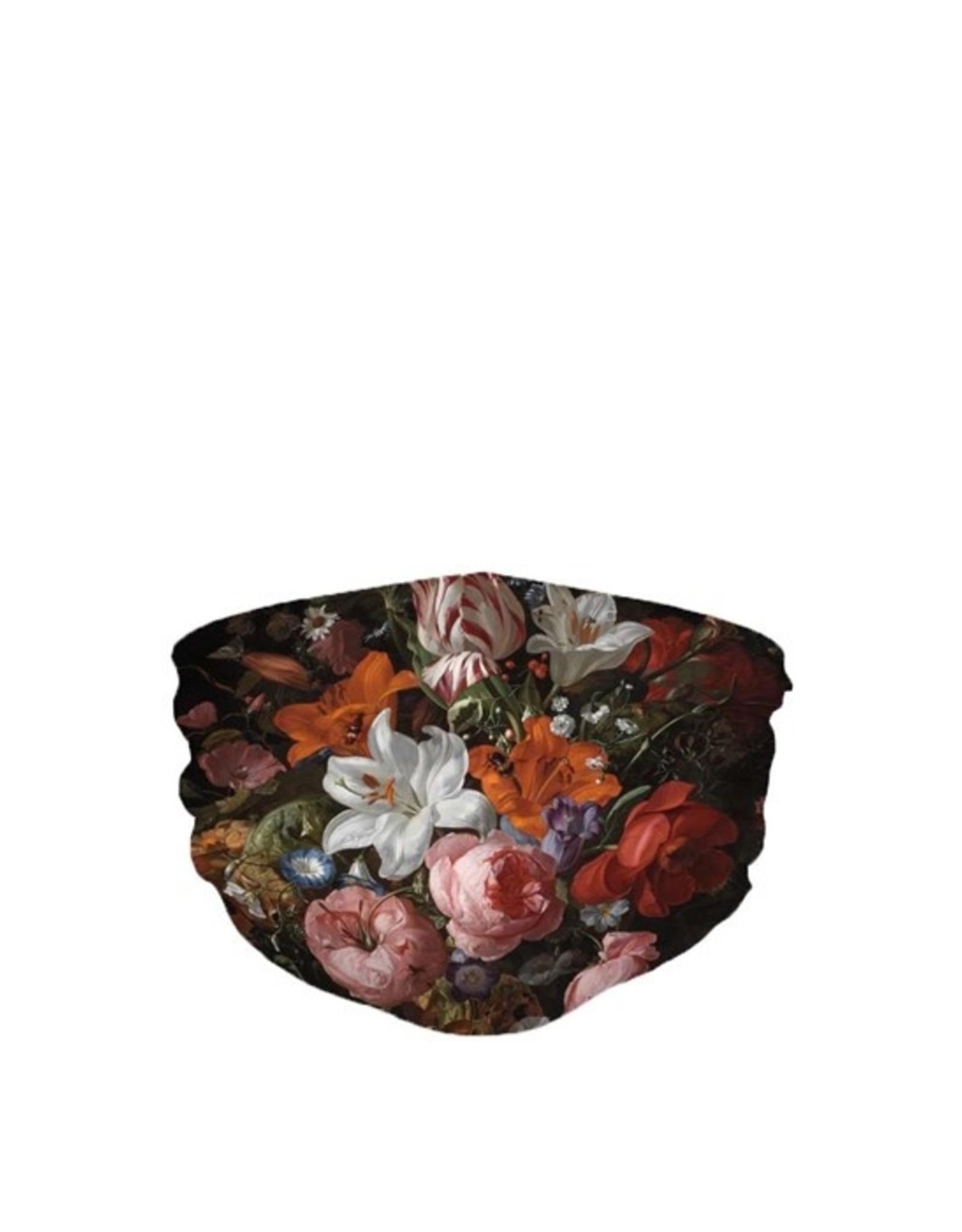 Flower In Vase Face Mask