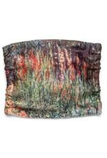 Monet's Flower Beds Face Mask