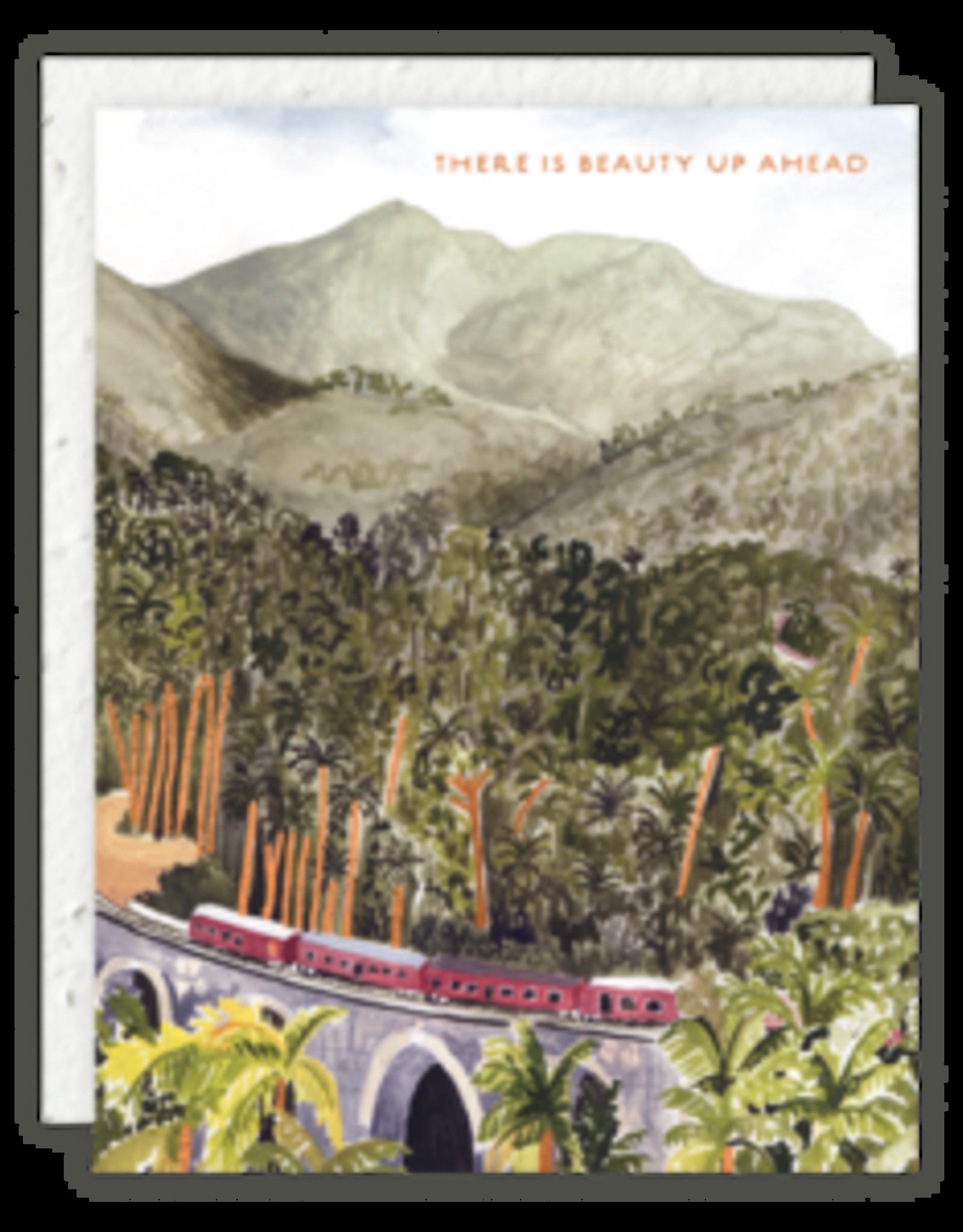 Beauty Up Ahead Card