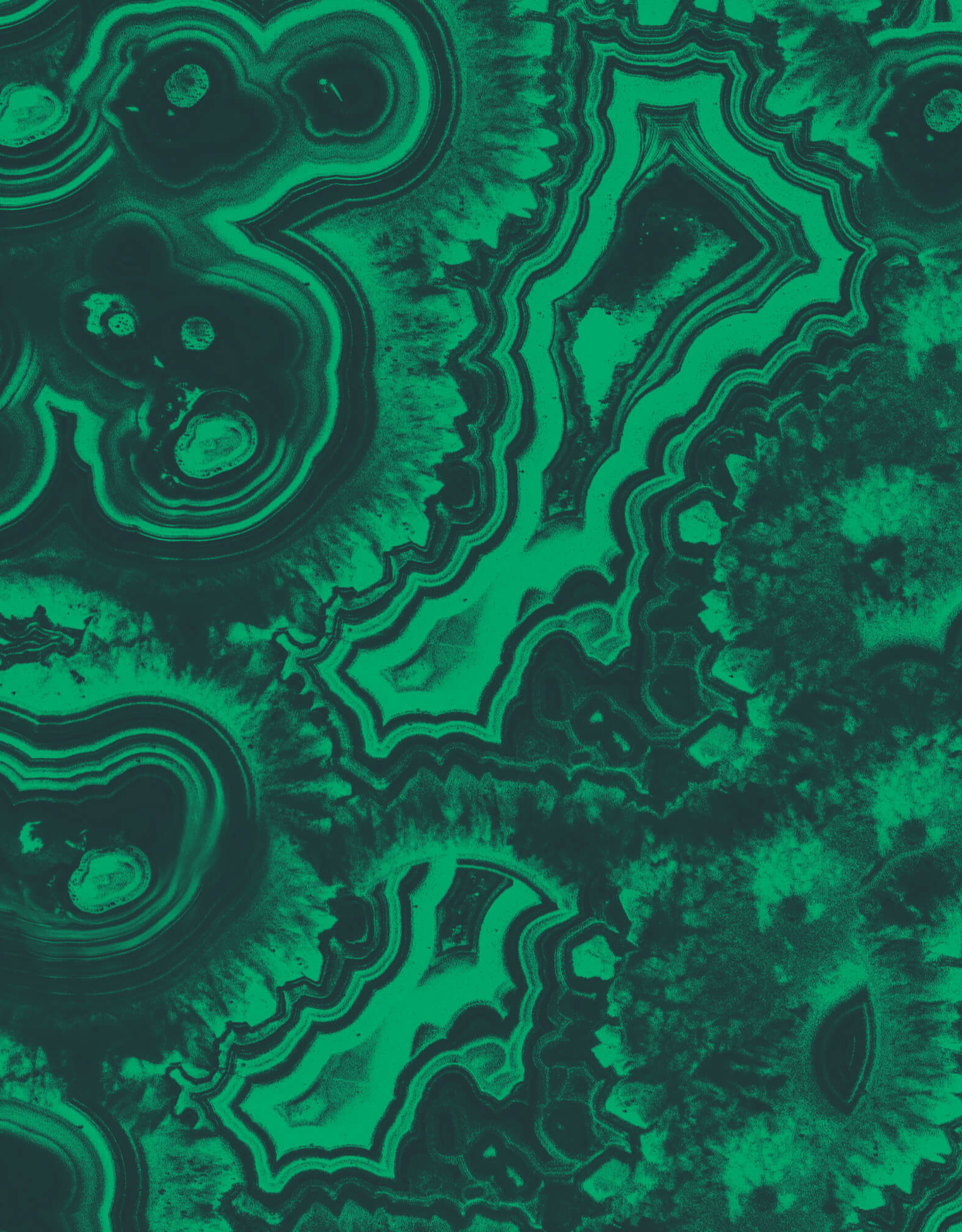 Gift Wrap Malachite