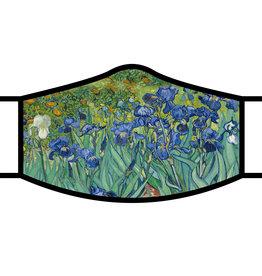 Van Gogh Irises Face Mask
