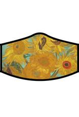 Van Gogh Sunflowers Face Mask