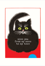 From My Nose To My Toes Card