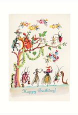 Insect Party Card