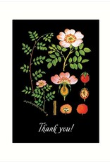 The Rose Thank You Card