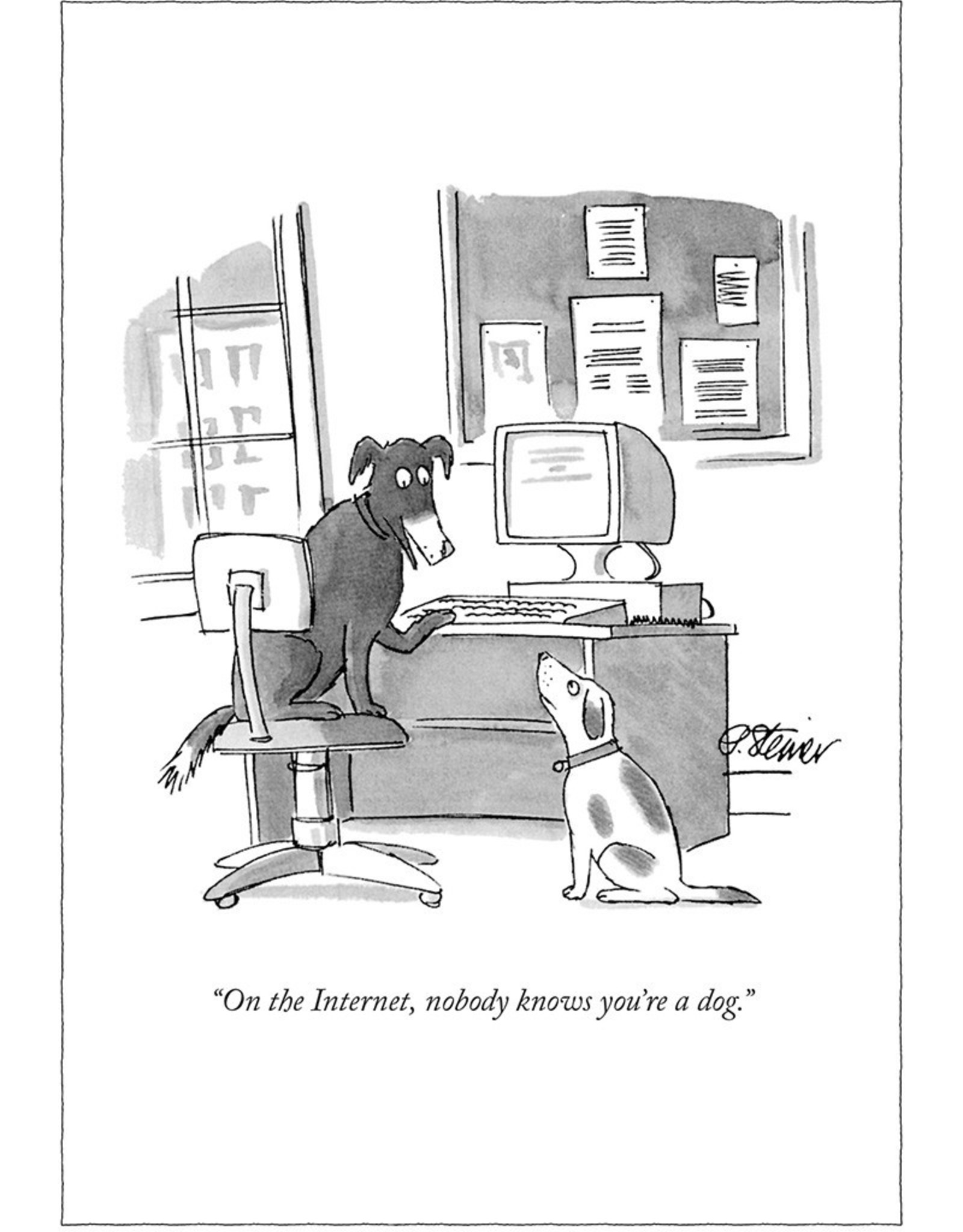 Internet Dog New Yorker Card