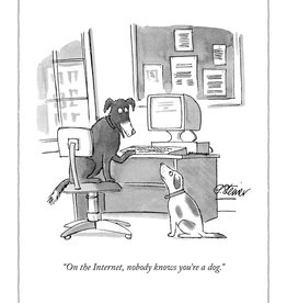 Internet Dog New Yorker Card