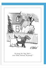 Sit, Stay, Heel New Yorker Card