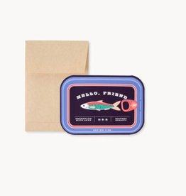 Sardine Tin Card