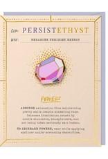 Gem Persistethyst Card & Pin