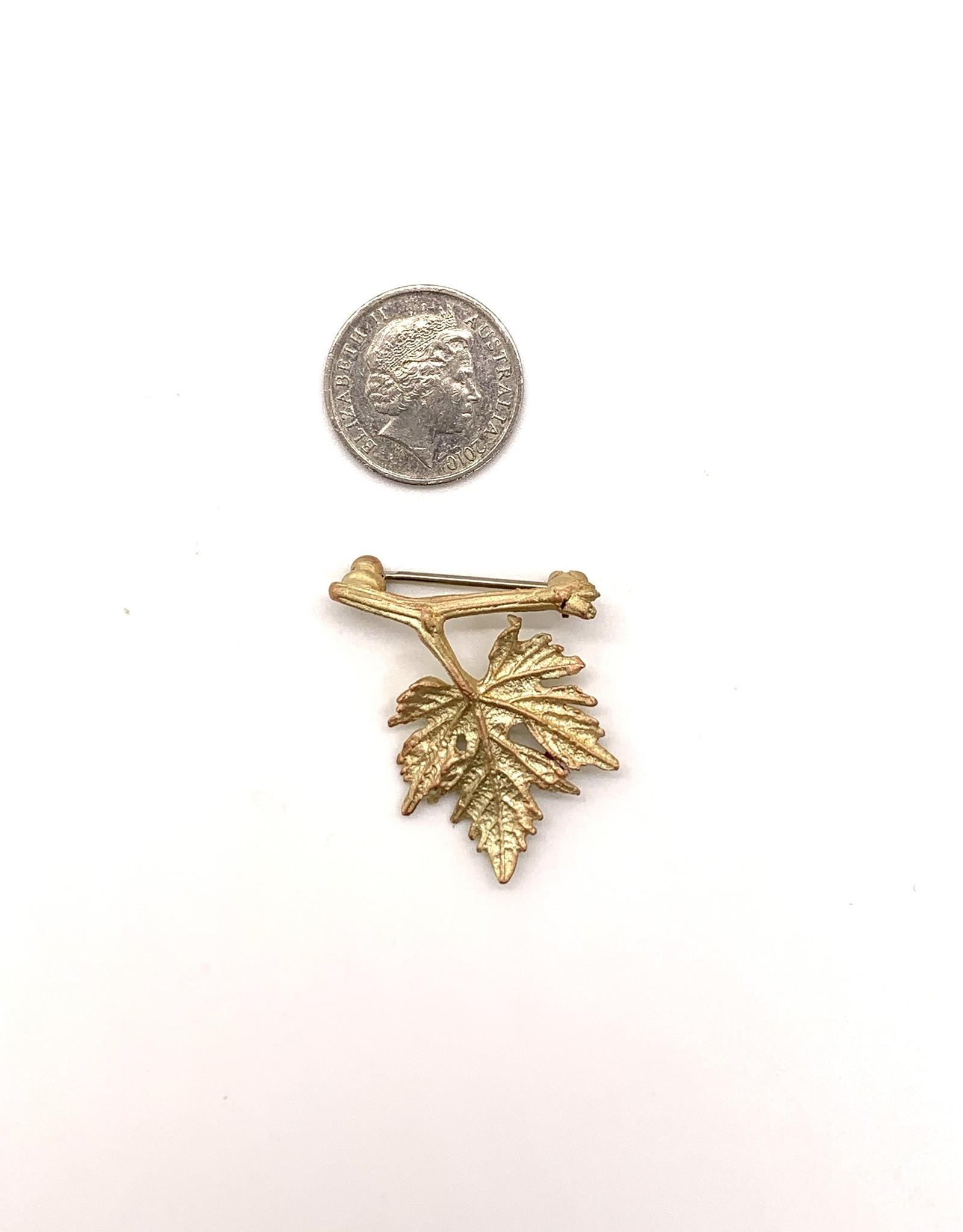 Grape Leaf Pin