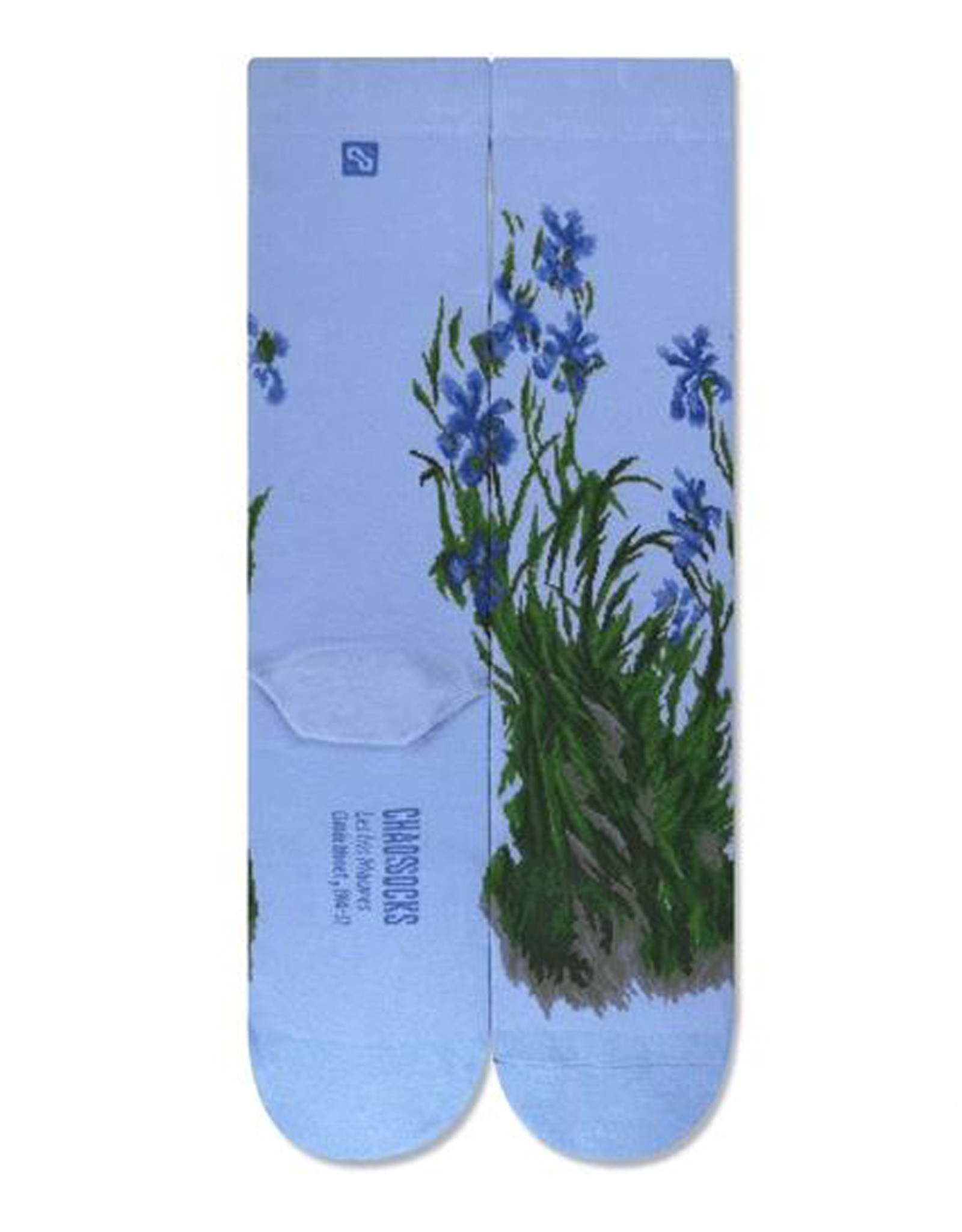 Les Iris Mauves Socks