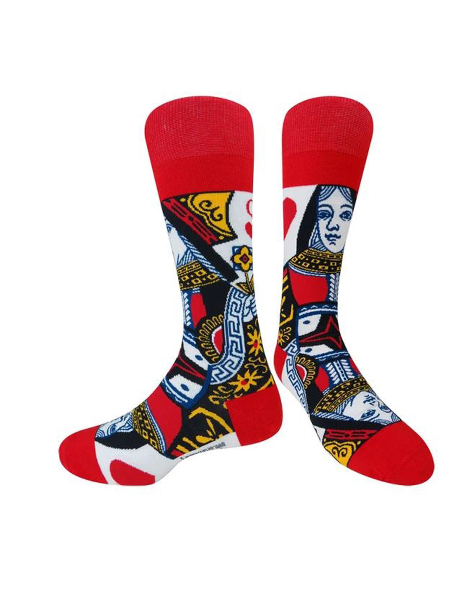 Queen Of Hearts Socks