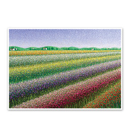 Rainbow Fields Thank You Card