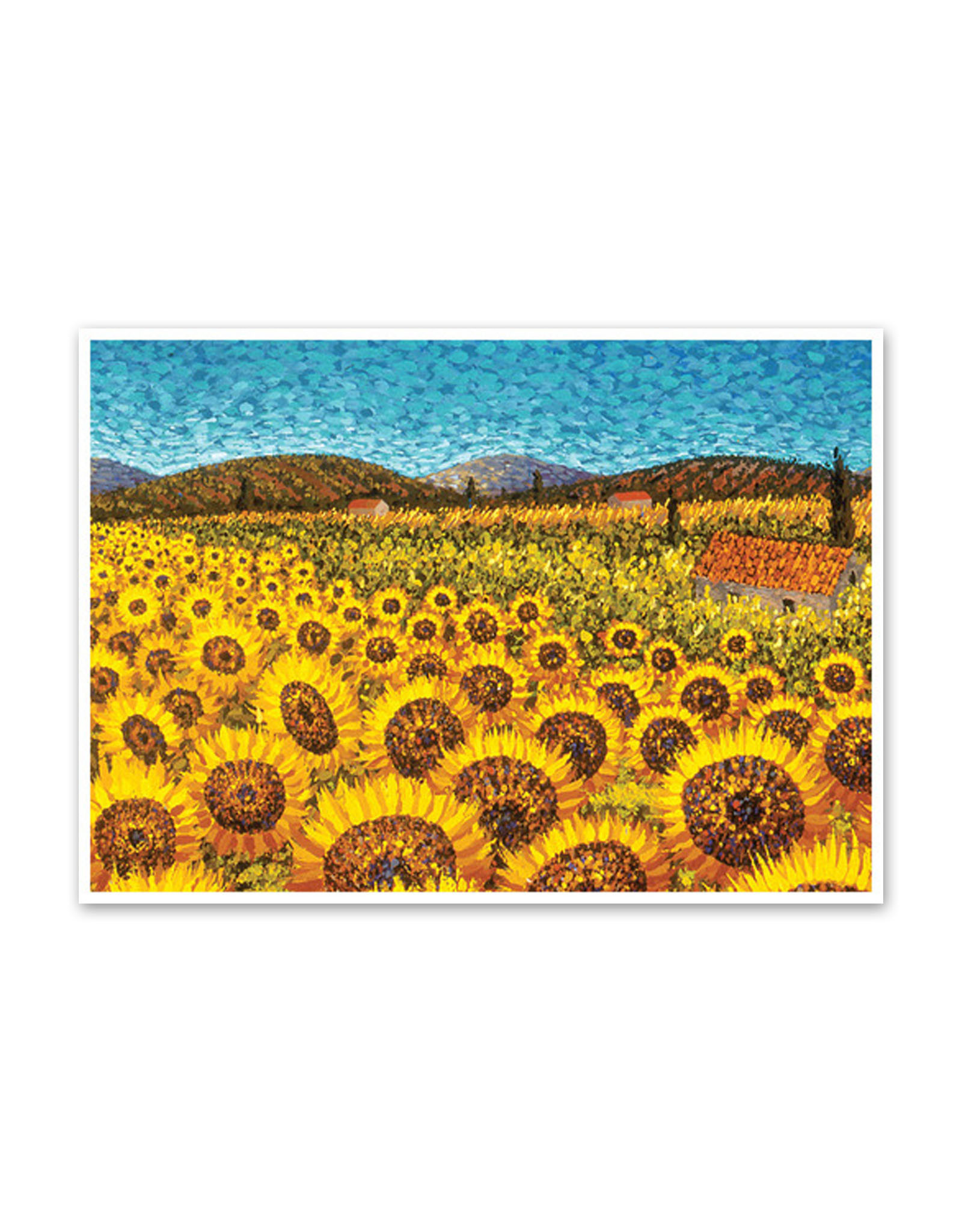 Sunflowers Umbria Birthday Card