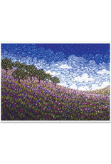 Lupin Wildflowers Birthday Card