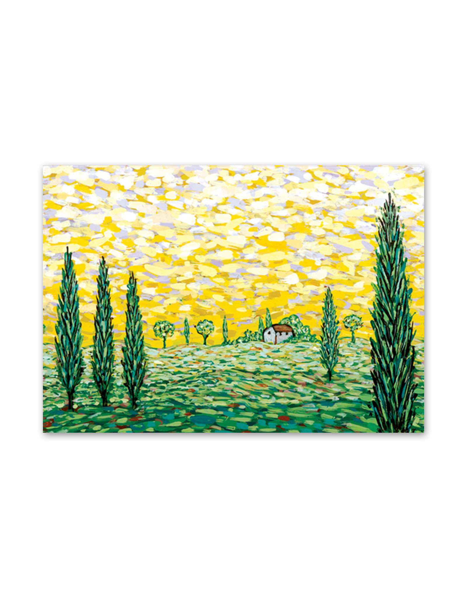 Yellow Morning Mini Boxed Cards