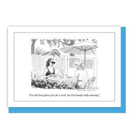 Gluten Free New Yorker Card