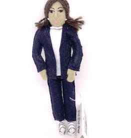 Felt Kamala Harris Doll