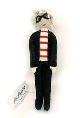 Andy Warhol Felt Doll