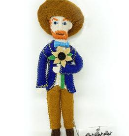 Felt Vincent  Van Gogh Doll