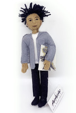 Felt Jean Michel Basquiat Doll