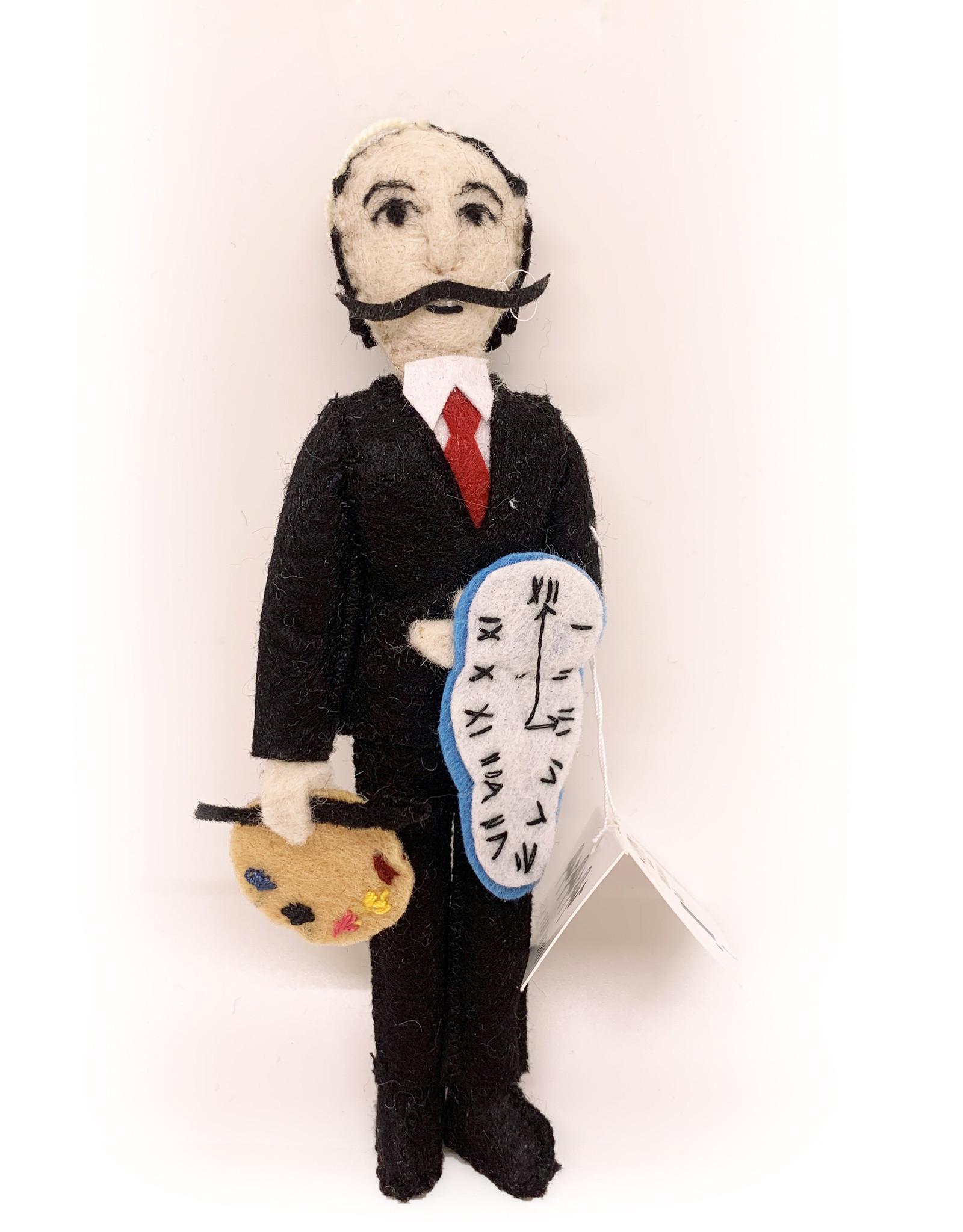 Salvador Dali Felt Doll