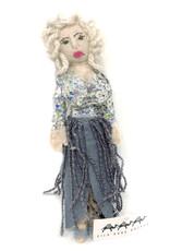 Felt Dolly Parton Doll