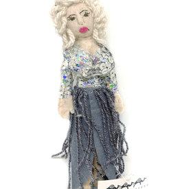 Dolly Parton Felt Doll