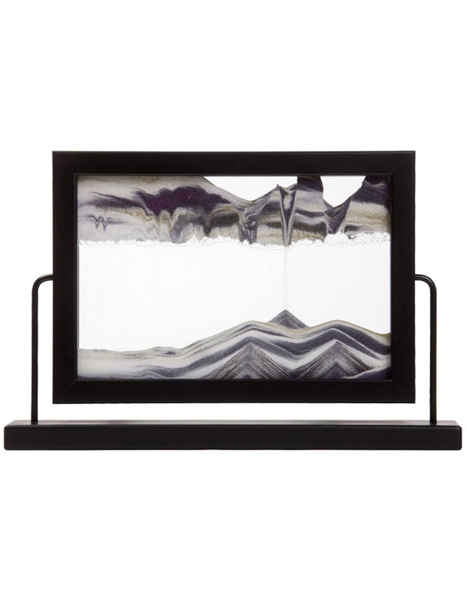 Moving Sand Art Window Black