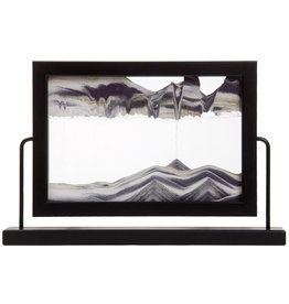 Moving Sand Art Window Black