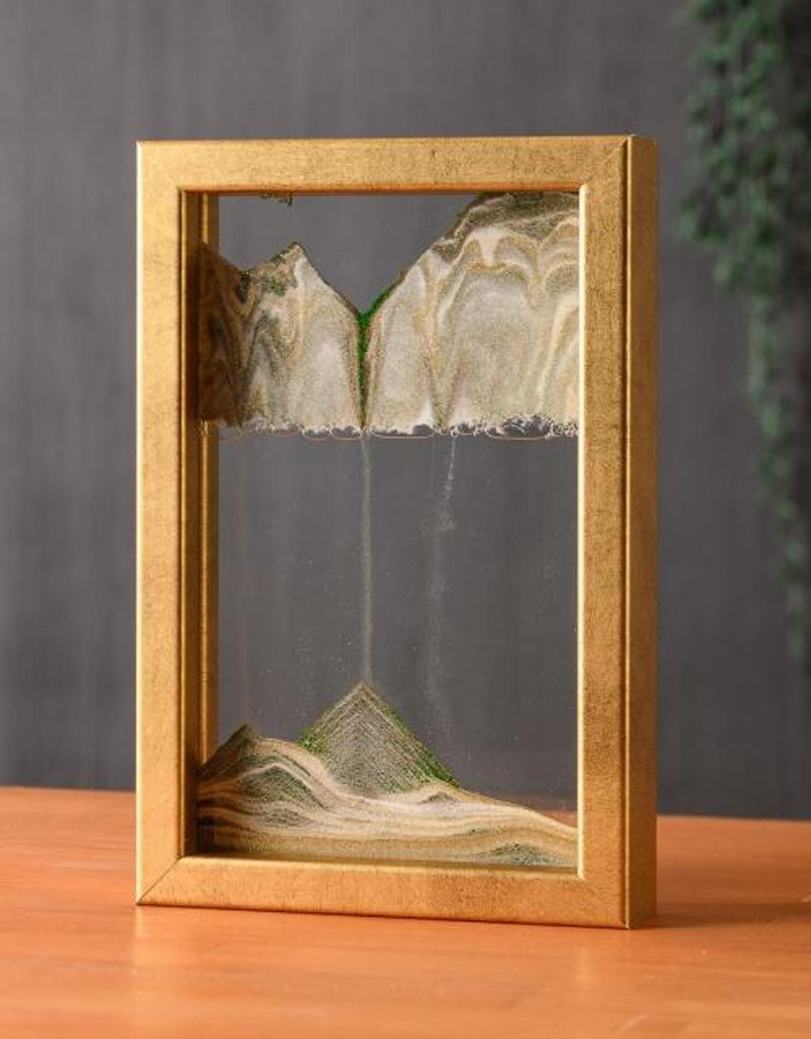 Moving Sand Art Horizon Rich Gold