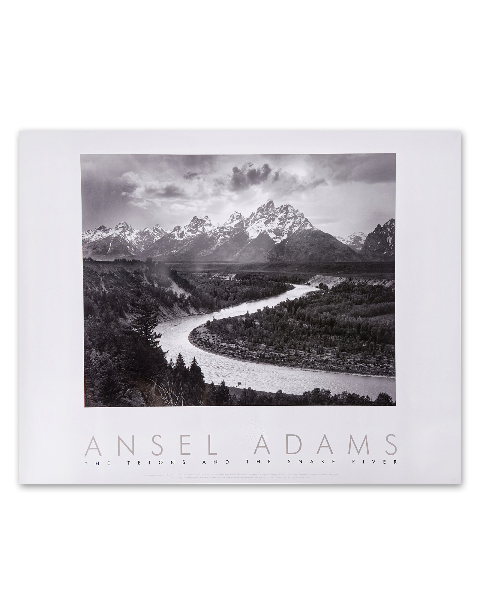 Tetons and the Snake River Poster