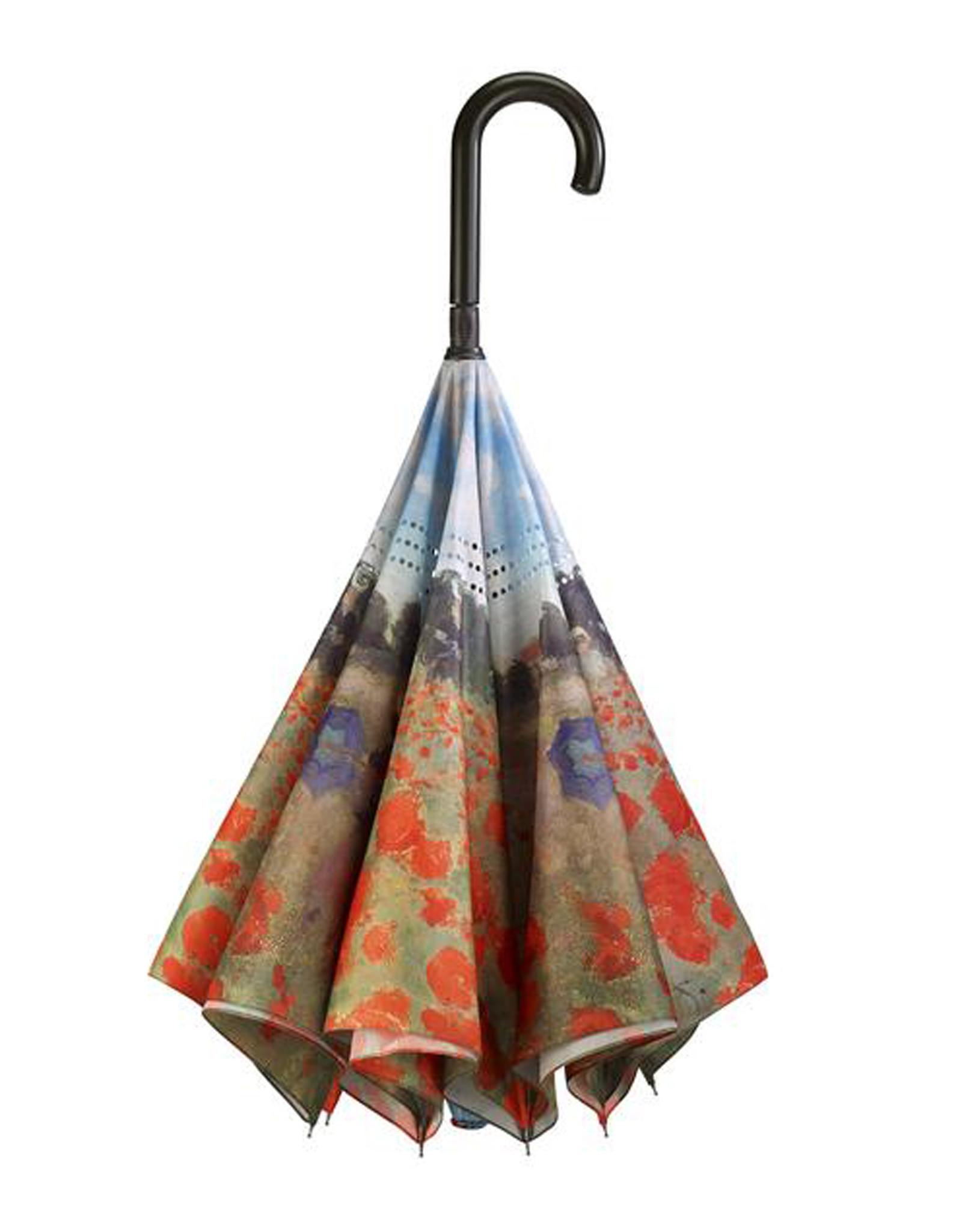 Umbrella Poppy Field