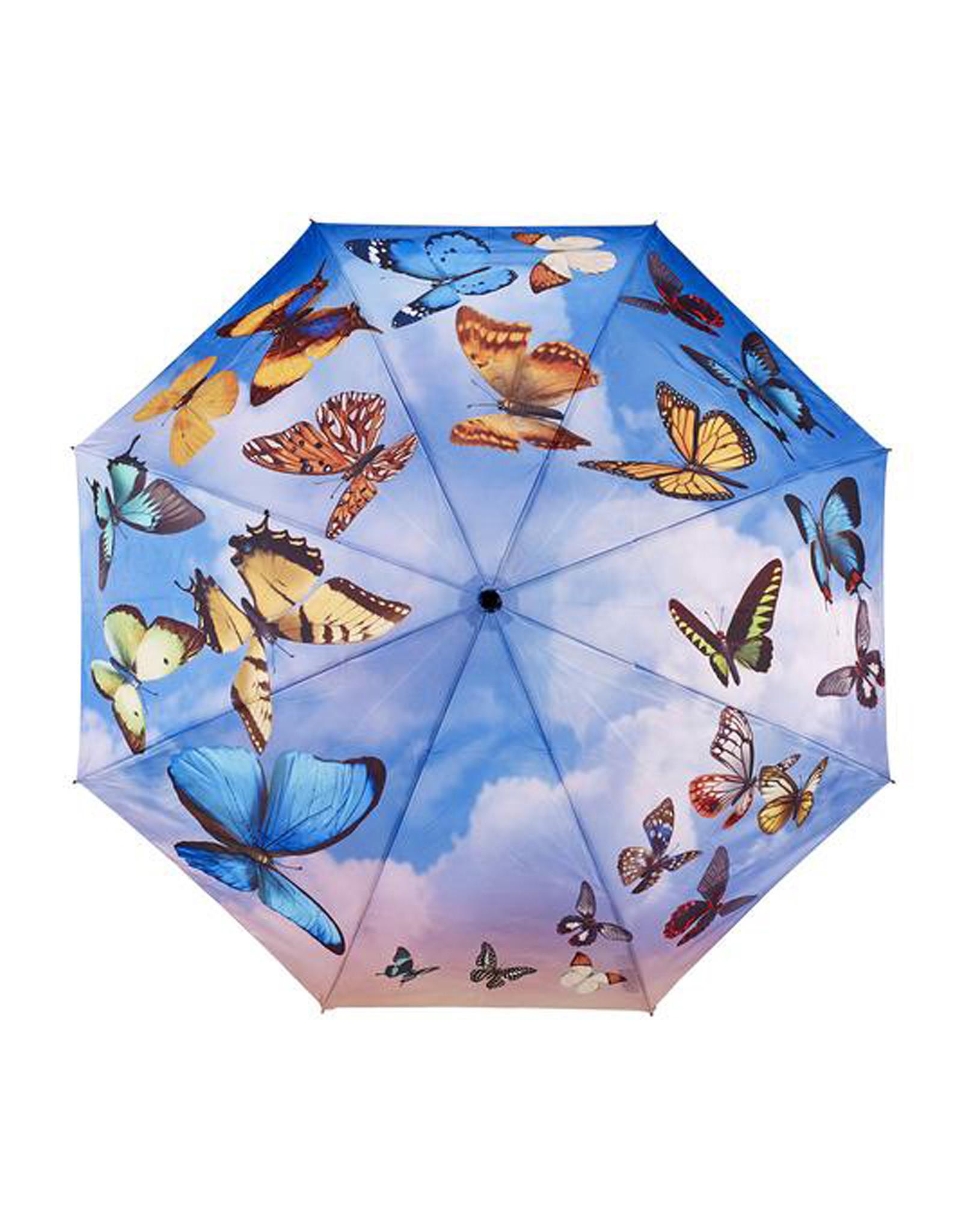 Umbrella Swirling Butterflies