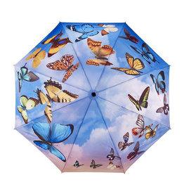 Swirling Butterflies Umbrella