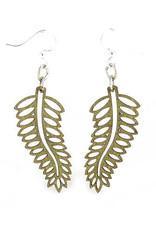 Open Fern Earrings