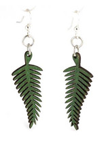 Solid Fern Earring