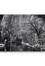 Ansel Adams Merced River, Cliffs