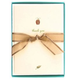 Lady Bug Thank You Boxed Cards