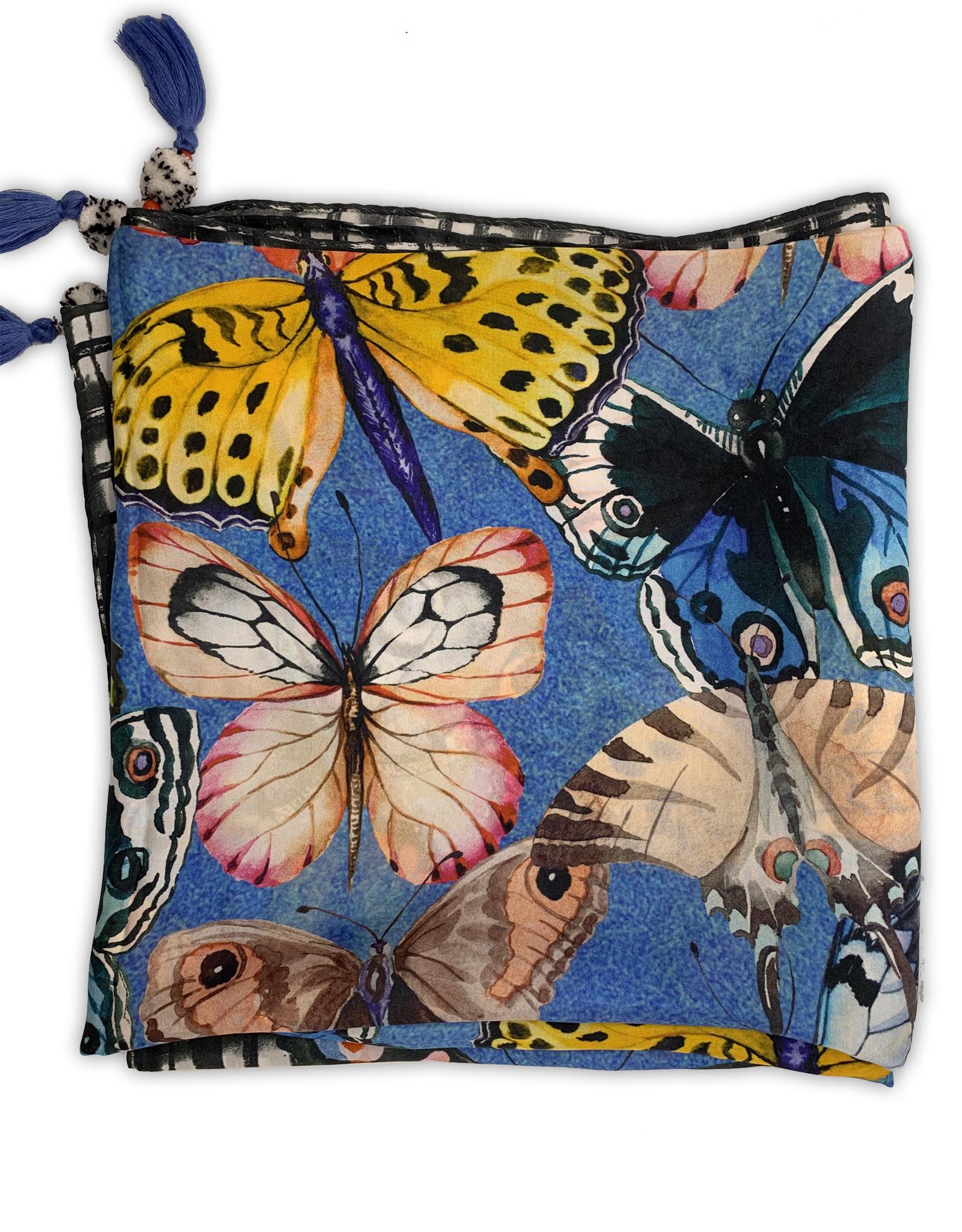 Butterfly Silk Scarf