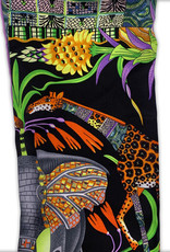 Jungle Scene Silk Scarf